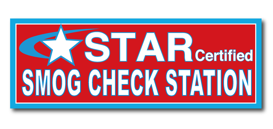 SMOG CHECK – Star Certified 3\'x8′ Vinyl Banner Sign – QcpSigns